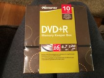 New 10 Pack DVD+R in Oswego, Illinois