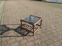 lovely rattan lamp table in Ramstein, Germany