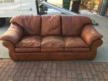 Leather couch in Colorado Springs, Colorado