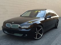 BMW 750LI Blacked Out in Fort Irwin, California