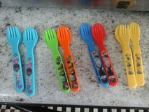 Plastic fork/spoon sets in Alamogordo, New Mexico
