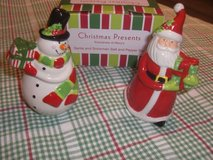 NEW Macy's holiday salt and pepper shakers in Naperville, Illinois