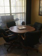 Kitchen table and chairs in The Woodlands, Texas