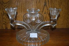 3-Candle Glass Candle Holder in Perry, Georgia