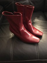 womens red boots size 9 in Joliet, Illinois