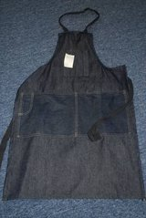 Denim Work or Gardening Apron in Byron, Georgia