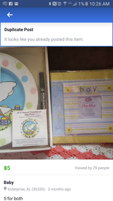Baby shower gifts! in Fort Rucker, Alabama