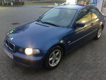 BMW 316 ti compact AC Mod.2003 winter tires NEW Inspection in Hohenfels, Germany