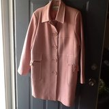 Plus size 14 pink dress coat in Fort Campbell, Kentucky
