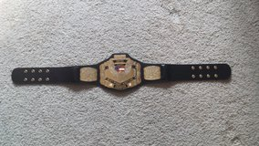 WCW Kids U.S. Heavyweight Title belt in Camp Lejeune, North Carolina