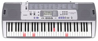 Casio LK-100 Lighted Keyboard with LCD Display & Stand in Lake Elsinore, California