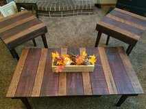 Rustic Handmade Coffee and side tables in Kansas City, Missouri