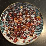 SANTA PAWS FRANKLIN MINT 2ND PLATE in Ramstein, Germany