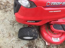 Troy built lawn mower with bager in Camp Lejeune, North Carolina