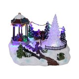 220 Volt Light Up Christmas Village Scene Colour Changing LED in Ramstein, Germany