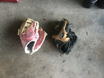 Boys and girls t-ball gloves in Morris, Illinois