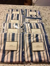Pottery Barn Napa Chair Covers- lot of 8 pre-owned in Naperville, Illinois