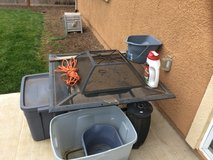 Wood burning fire pit in Fairfield, California