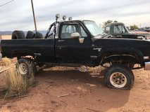 Chevy project truck in Alamogordo, New Mexico