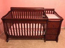 Crib and Changing Station in Columbus, Georgia