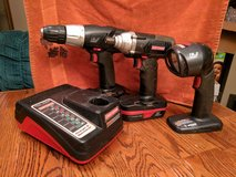 6 pc Craftsman 19.2 volt cordless set in Ottawa, Illinois