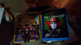 Alice and Wonderland DVDS and BLU-RAYs in Gordon, Georgia