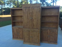 Entertainment Center / Armoire with Shelves in Fort Rucker, Alabama