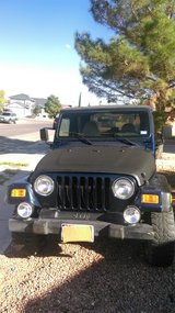 2001 Jeep Wrangler in Fort Bliss, Texas