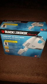 New / Hand Held Black & Decker Appliance Electric Mixer in Fort Campbell, Kentucky