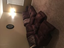 Recliner love seat and sofa in Nellis AFB, Nevada