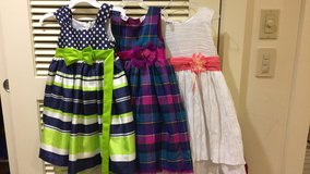 Girls dresses..two both sz 4T..white sz 5. in Okinawa, Japan