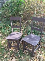 Brown Wooden Straight Chairs in Byron, Georgia