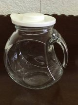 Clear Juice Pitcher With Lid in Warner Robins, Georgia