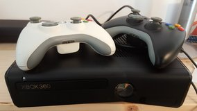 Xbox 360 with 250 gb harddisk plus 9 games in Ramstein, Germany