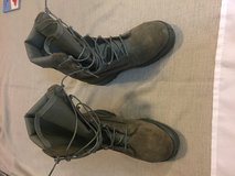Size 7 Sage Military Boots  Steel Toe, NEW! in Travis AFB, California