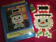 New - 110V Snowman Face Decoration in Ramstein, Germany