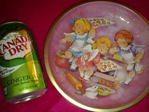 New - Germany Angel Girls Baking Cookies Tin Plate in Ramstein, Germany