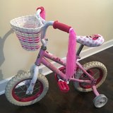 "Minnie Mouse 12"" bike with training wheels Huffy in Elgin, Illinois"