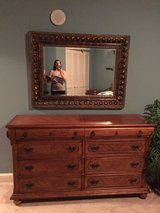 Dresser with mirror and nightstand in Eglin AFB, Florida