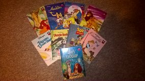 children disney story book set in Lakenheath, UK