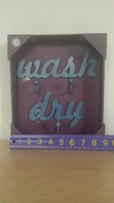 "NEW - ""wash"" and ""dry"" Hooks - Only 1 Set Left in Chicago, Illinois"