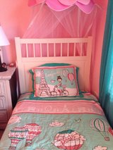 Twin bed with mattress in Batavia, Illinois
