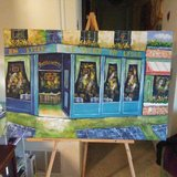 Canvas Painting in San Clemente, California