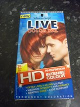 Schwarzkopf 'real red' hair dye in Lakenheath, UK