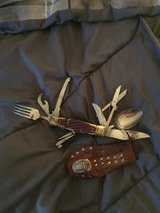Vintage Japanese pocket knife and holster in Lockport, Illinois