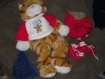 build-a-bear meowing cat w/accessories in Oswego, Illinois