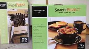 KITCHEN ITEMS Dishes, knife set, cutlery, glasses, mircrowave, toaster, iron and more in Ramstein, Germany