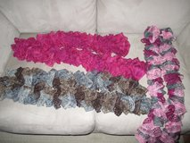 "Knit scarves for sale!  51"" long, perfect condition! in Plainfield, Illinois"