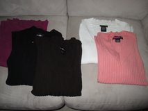 Women's Juniors' Knit Tops Sweaters Sizes Small and Medium, 3/4 sleeve, long sleeve - Nice Condi... in Bolingbrook, Illinois