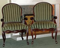 2 QUEEN ANNE ACCENT CHAIRS in Temecula, California